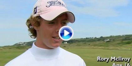 Un 12 de julio de 2005 Rory, con 16 años, destrozaba Portrush firmando 61 golpes. Así fue aquella gesta