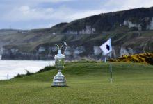 ¡Que llueva, que llueva…! Royal Portrush recibirá a los jugadores con agua de principio a fin del torneo