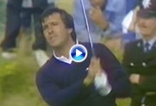 ¿Recuerdas… la exhibición de Seve en la 4ª ronda del Open de 1988 para llevarse la Jarra de Clarete?