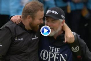 Disfruten de los mejores golpes de la última jornada del Open, una ronda que Lowry no olvidará