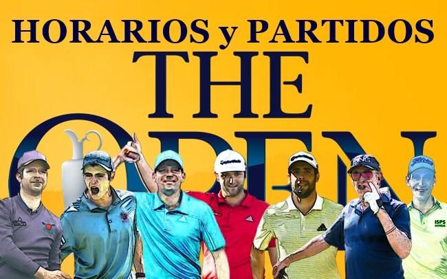 Jon-Kuchar-Cantlay; Rafa-Bubba-Pepperell; Sergio-Simpson-Pan ¡Estos son los horarios para The Open!