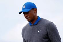 Tiger firma la peor tarjeta inicial en un Open tras un día para olvidar (problemas físicos incluidos)