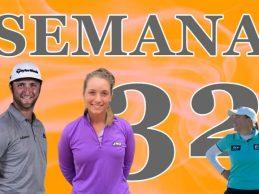 Dos podios, Jon Rahm y Laura Gómez, y un nuevo Top 10, cosecha de la Armada en la Semana 32