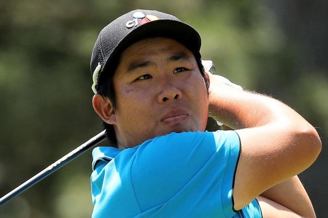 El golfista asiático está siendo uno de los grandes nombres de esta primera mitad de torneo. Foto: @PGATour