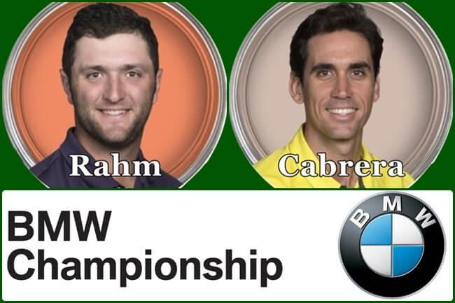 Jon Rahm y Rafa Cabrera Bello pelearán por conseguir el BMW Championship