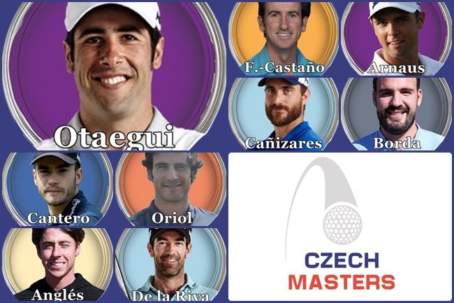Otaegui es el jugador de mayor rango, según ranking mundial, de entre los españoles