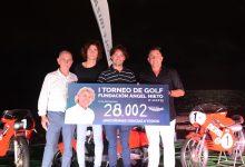 El I Torneo Fundación Ángel Nieto fue todo un éxito. Recaudó más de 28.000 euros en Golf Ibiza