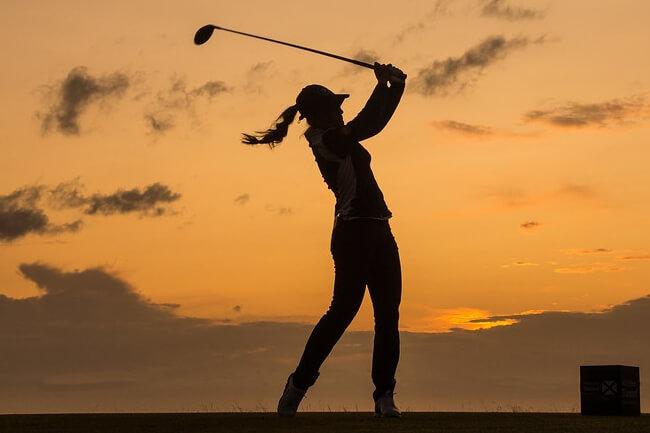 Luna Sobrón durante la segunda jornada en el Ladies Scottish Open. Foto: Tristan Jones