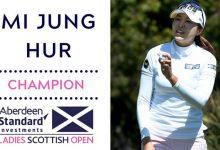 Corea vuelve a demostrar su poderío con el triunfo de Mi Jung en Escocia. Luna Sobrón, mejor española