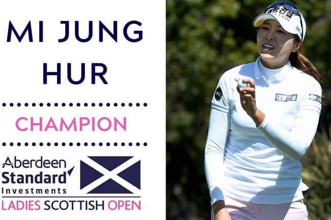 Mi Jung Hur se impuso en el Ladies Scottish Open