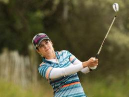 Beatriz Recari, sobresaliente incorporación en el Estrella Damm Mediterranean Ladies Open (Sitges)