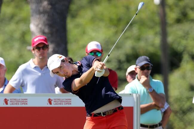 Carlota Ciganda en una pasada edición del Mediterranean Ladies Open