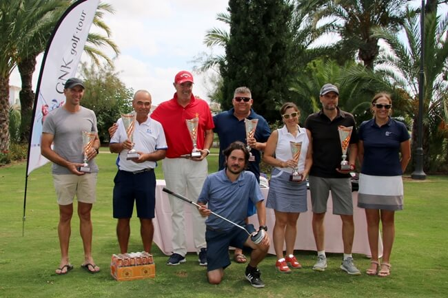 El recorrido murciano de Hacienda Riquelme acogió la penúltima prueba del Circuito GNK Golf Tour '19
