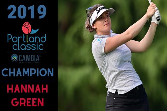 Hannah Green campeona en el Cambia Portland Classic 2019