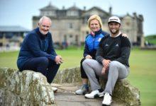 """Rahm alucinó con su primer contacto con el Old Course de St. Andrews: """"Este campo es especial"""""""