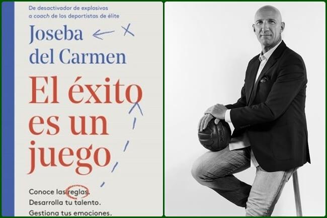 «El éxito es un juego», título del 1er. libro de Joseba del Carmen, entrenador de «emociones» de Rahm