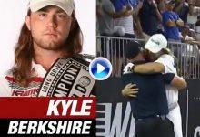 Kyle Berkshire es el nuevo campeón mundial de distancia con el driver tras este obús de 410 yardas