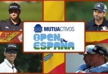 ¡La gran fiesta del golf en Madrid! Jon, Sergio, Rafa, Chema y Jiménez, repoker en el Open de España