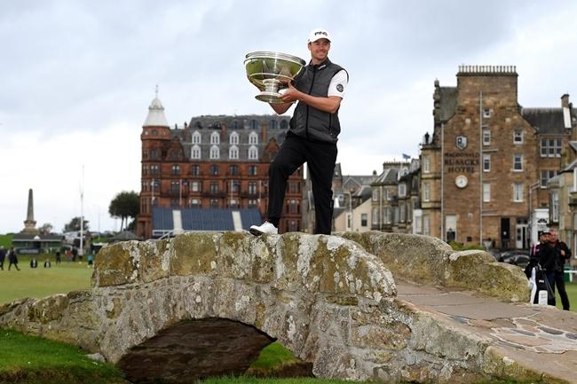 """El deportista del país vecino se estrenó con un triunfo de prestigio en """"la casa del Golf"""". Foto: @EuropeanTour"""