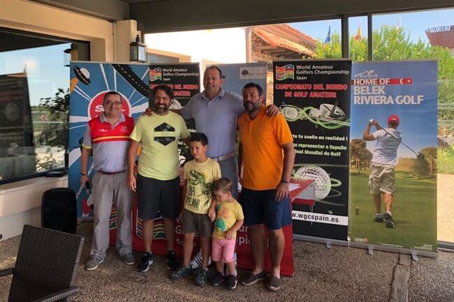 Campeones en Golf Valdeluz