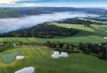 Tiger Woods da un esbozo de cómo es Payne's Valley, su primer diseño en un campo público