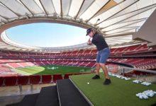 El gran espectáculo del Mutuactivos Open de España se presenta en el Wanda a golpe de swing
