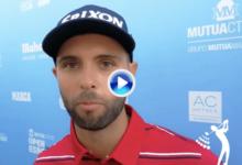 """Adri Arnaus: """"Ha sido un placer jugar delante de tanta gente y de la manera que lo he hecho"""""""