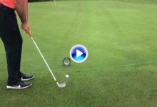 ¡¡Vaya acrobacia de Álvaro Rumbo!! El habilidoso golfista embocó la bola con un H3 de pura fantasía