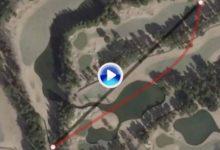 Bubba encontró un atajo bestial en el Accordia Golf (H12) en una de las líneas más agresivas del año