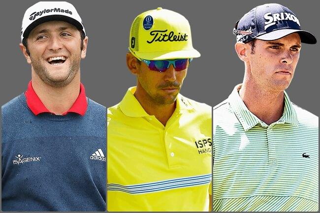 El triunvirato de estrellas españolas, encuadrados en los encuentros de los primeros 36 hoyos en el Open de España.