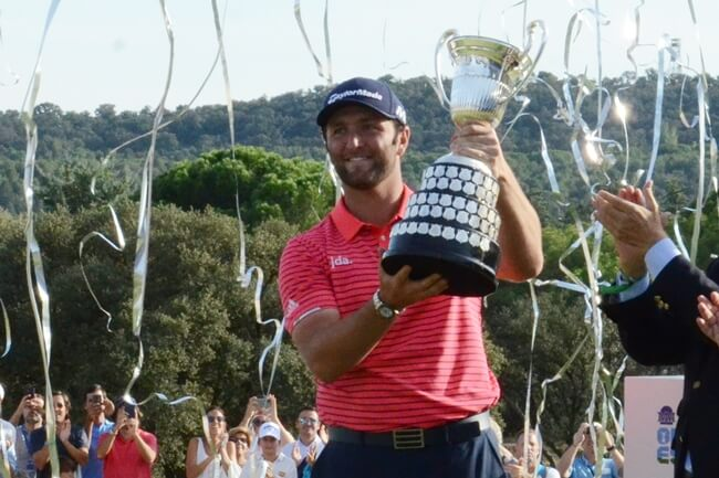 Jon Rahm campeon Open de España 2019. Foto OpenGolf.es