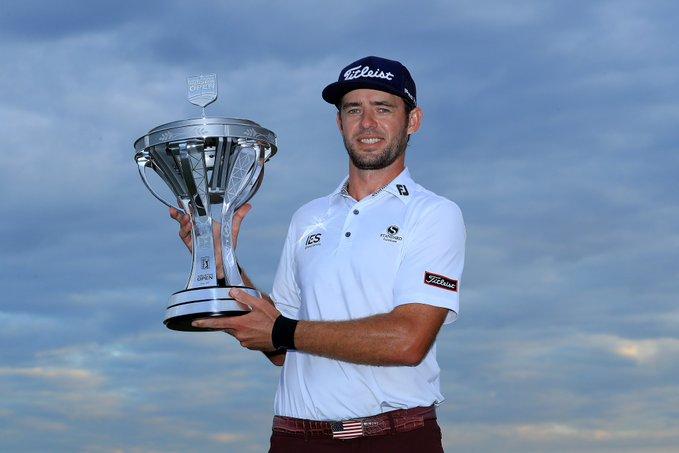 Lanto Griffin sufre, pero se estrena en el PGA Tour con un triunfo de prestigio en el Houston Open