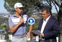 Cabrera Bello: «Haremos todo lo posible para que el Open de España sea el mejor torneo del Tour»
