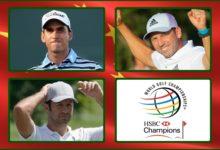 Rafa, Sergio y Jorge, a la conquista del exclusivo HSBC, mundial de los WGC que reparte 10.250.000$