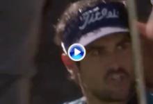 Samuel del Val no está de comparsa en el partido estelar: ¡qué chip para ganarse a todo el público!