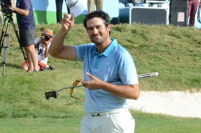 El jugador del PGA Tour China se lleva la palma en las subidas semanales de la Armada. Foto: OpenGolf.es
