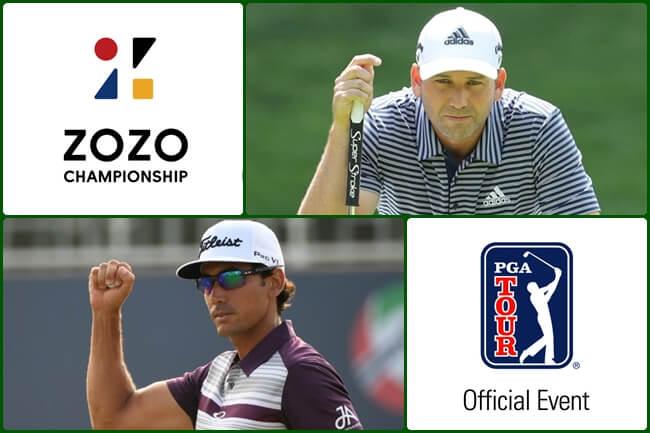 Sergio García y Cabrera Bello a por el millonario ZOZO, donde Tiger hace su debut en el nuevo curso