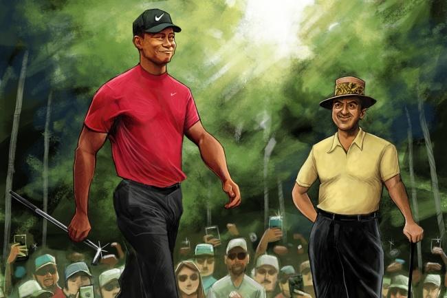 Tiger Woods, Sam Snead, PGA Tour,
