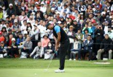 La victoria en el ZOZO, muy cerca: El tifón Tiger, a sólo unas horas de hacer más historia en el PGA