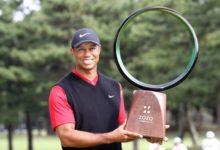 Tiger se eleva a los altares del Golf con su triunfo en Japón e iguala los 82 triunfos de Sam Snead