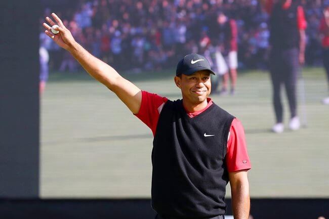 Tiger Woods campeón ZOZO Championship. Foto @PGATour