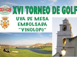 El XVI Torneo de «Uva de Mesa embolsada del Vinalopó» ya está preparado en Font del Llop Golf