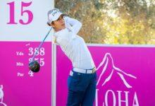 Azahara no renuncia al Hat Trick en el Andalucía Costa del Sol Open España en el ecuador del torneo