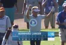 Langer volvió a dejar patente su magia con los hierros con este Ace que le acercaba al líder