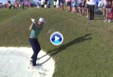El Golf es duro… Bo Hoag vio atónito cómo su golpe en vez de ganar distancia perdía casi ¡¡100 metros!!