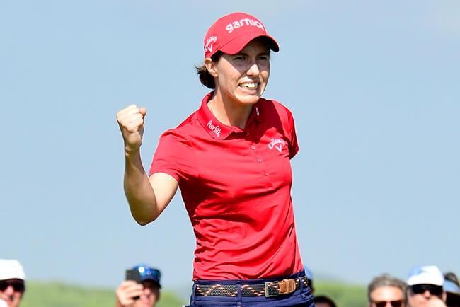 Brillante fin de fiesta de Carlota en el US PGA con un meritorio Top 3 en una nueva exhibición de Kim