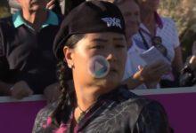 Christina Kim anota un gran Hoyo en Uno desde 165 metros en el Open de España ¡y ella no se lo creía!