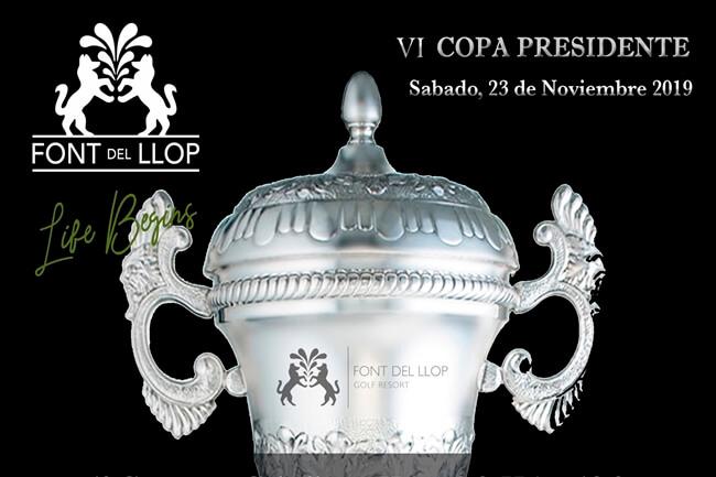 Font del Llop se viste con sus mejores galas para acoger la VI Copa Presidente el próximo 23 de nov.