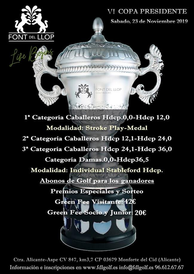 Copa Presidente 2019 Font del Llop