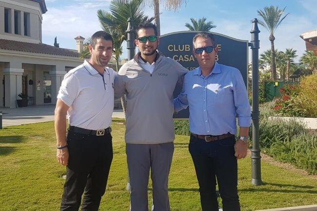 El Campeonato de la PGA se juega en Murcia